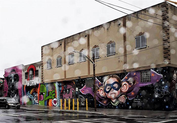 La impresionante galería de arte al aire libre en el barrio de Bushwick