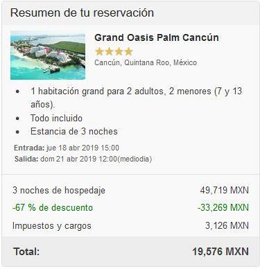¿Cuánto cuesta un viaje a Cancún todo incluido?