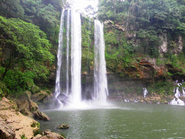 Circuitos en Chiapas Cascada Misol ha