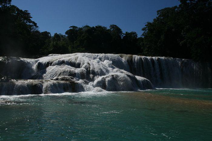 Circuitos en Chiapas Cascadas de Agua Azul