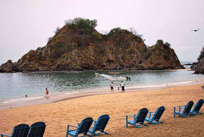 Playa del panteón, Playas de Oaxaca