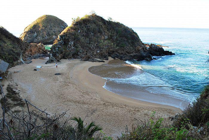 Playa del Amor, Playas de Oaxaca