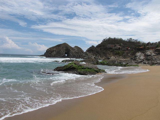Playa Zipolite, Playas de Oaxaca