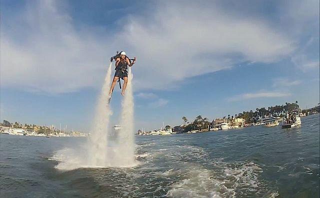 Deportes extremos en Cancún: Jetpack Adventures