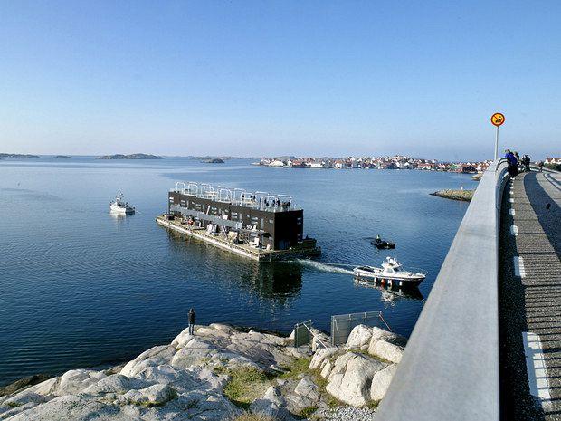 Cinco hoteles flotantes para dormir sobre el agua