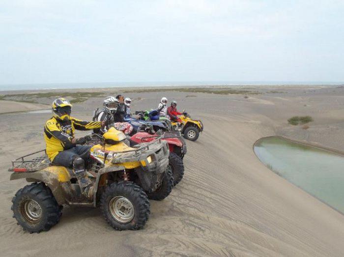 La playa de Chachalacas, un lugar para la aventura
