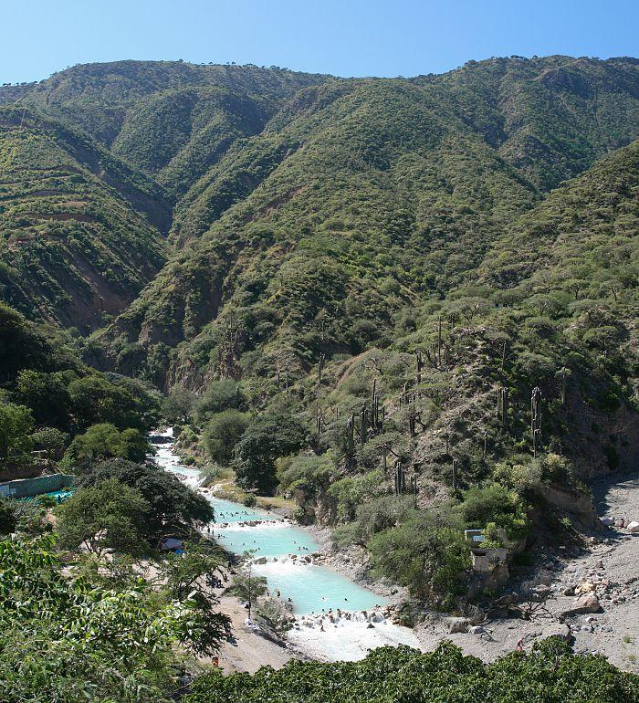 Excursión a las grutas de Tolantongo