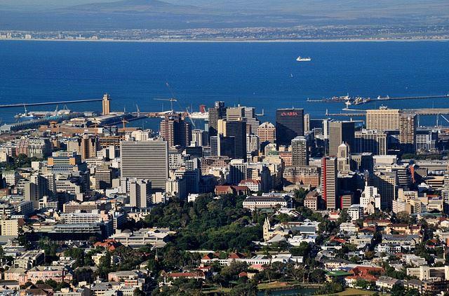 Ciudad del Cabo es uno de los puertos del crucero.