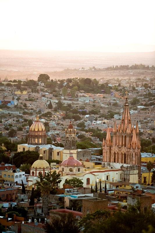 Un paseo por San Miguel de Allende