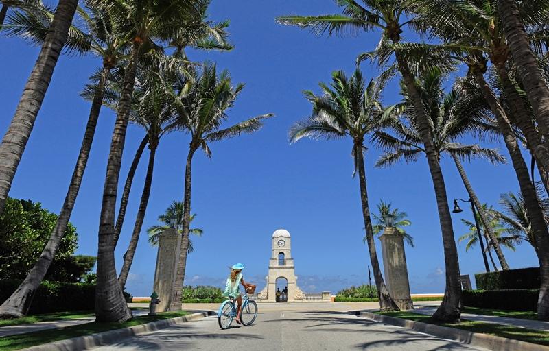 Contempla los bellos paisajes de Palm Beach