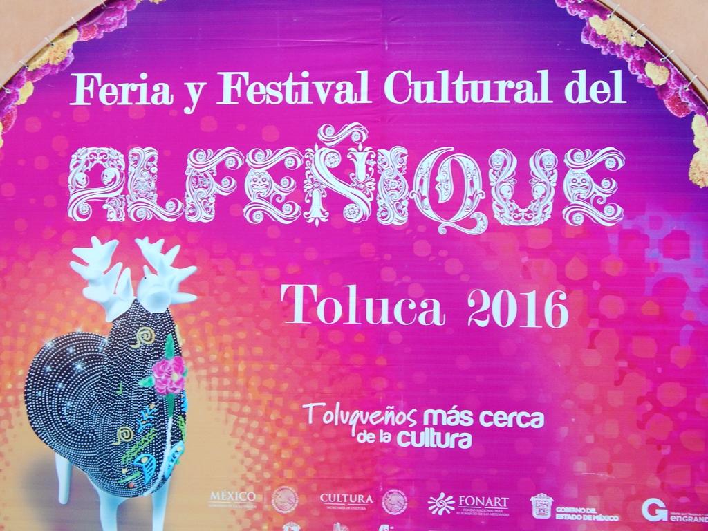Cartel de la Feria y Festival Cultural del Alfeñique 2016