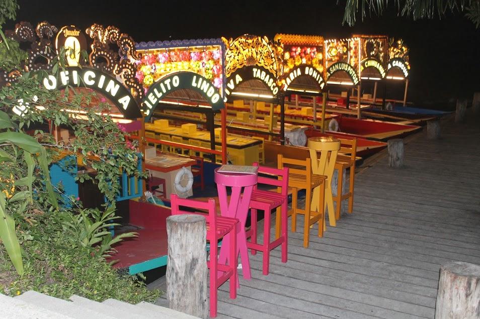 Disfruta una noche mexicana a bordo de una trajinera