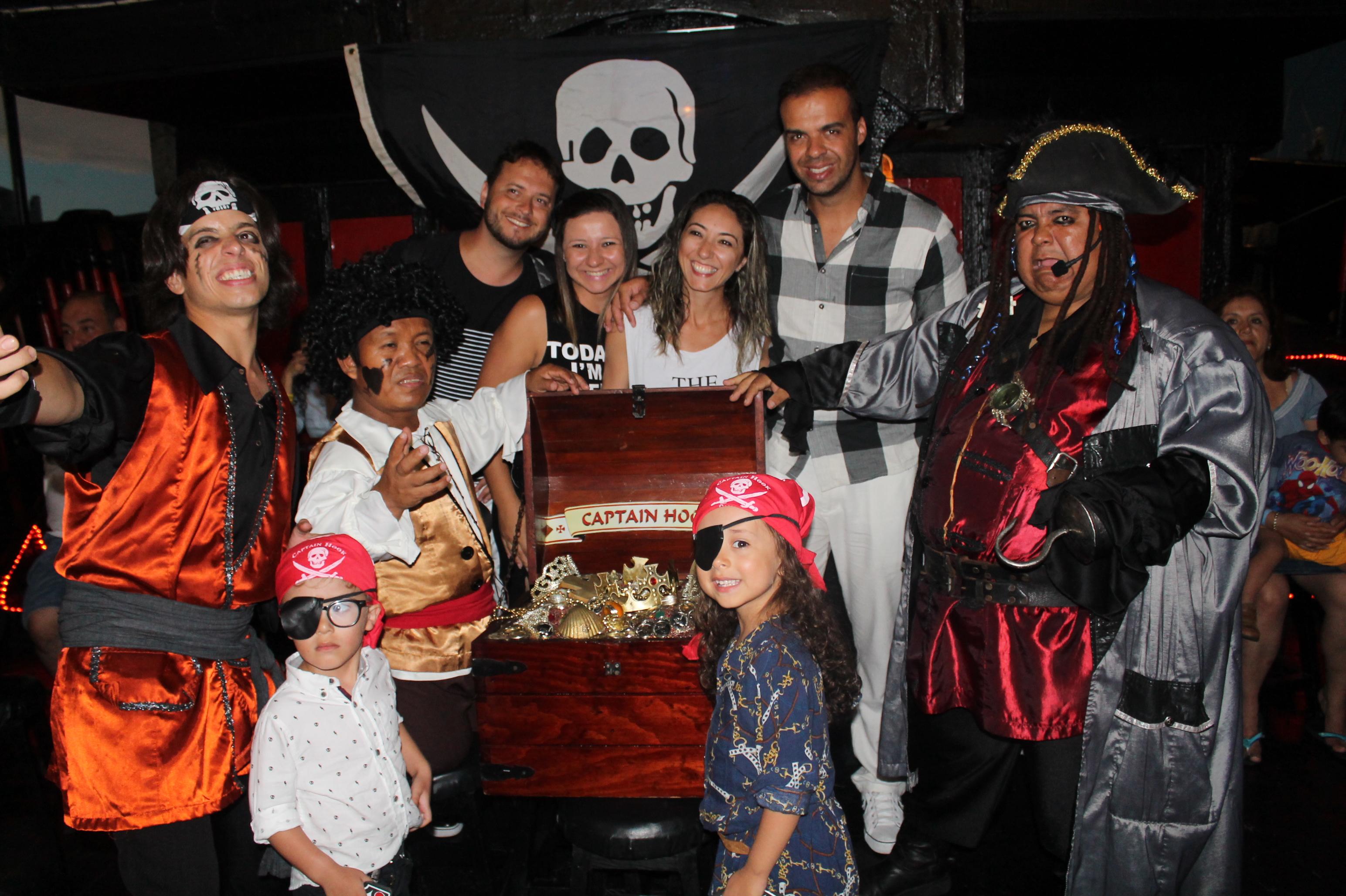 Capitán Hook es un tour ideal para toda la familia