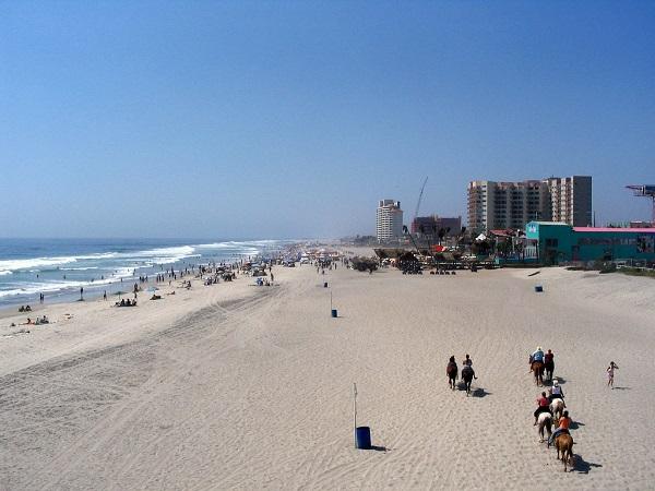 Rosarito, Baja California: playas al norte de México