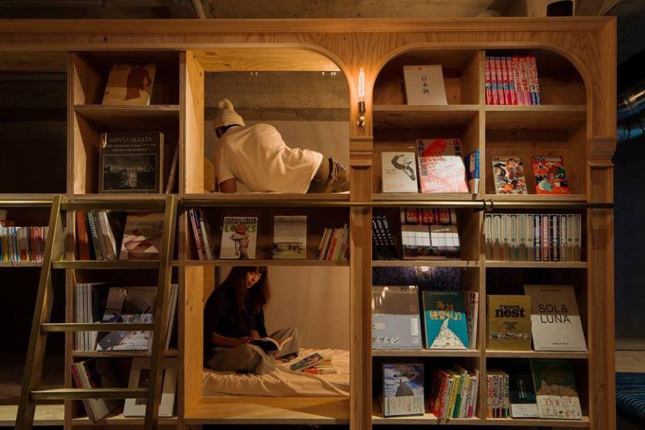 Book and Bed, un hostal para los amantes de los libros