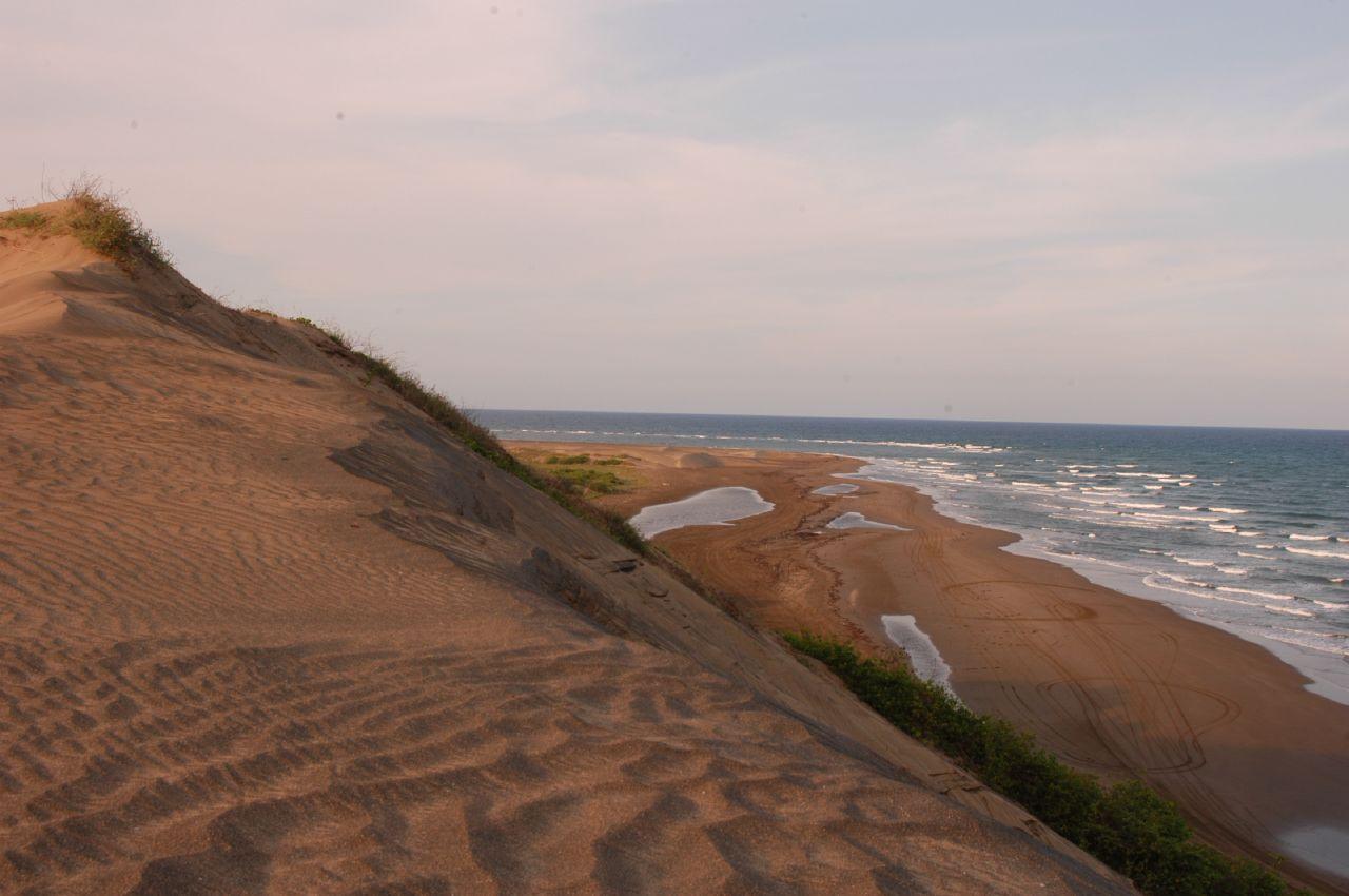 Las dunas del Sabanal y la playa de Chachalacas