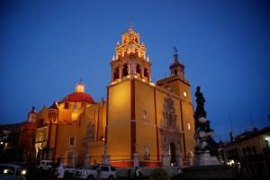 Los lugares turísticos de Guanajuato son una fantasía colonial