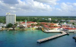 Hoteles en playa Cozumel