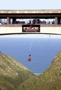 El bungee jumping más alto del mundo