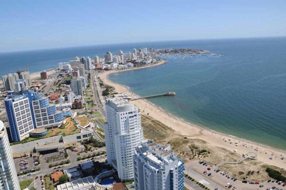 Diversión en las playas de Punta del Este