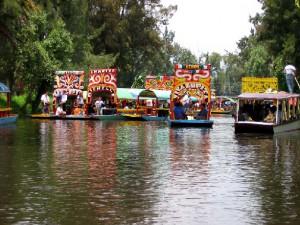 Lugares turísticos de la Ciudad de México Xochimilco
