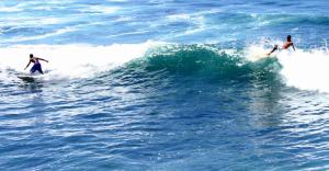 Los deportes extremos en el mar Puerto Escondido