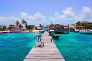 Playas en el Caribe Las Islas belicenas
