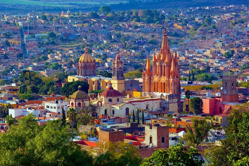 Boletos de autobus para visitar San Miguel de Allende