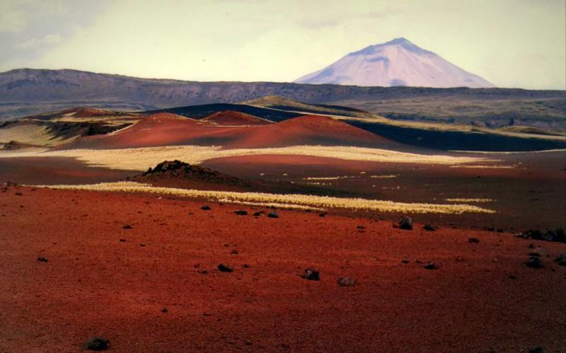 Deportes extremos en Argentina el interior de un volcan