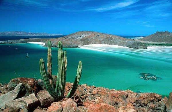 Playas de La Paz en Baja California Sur
