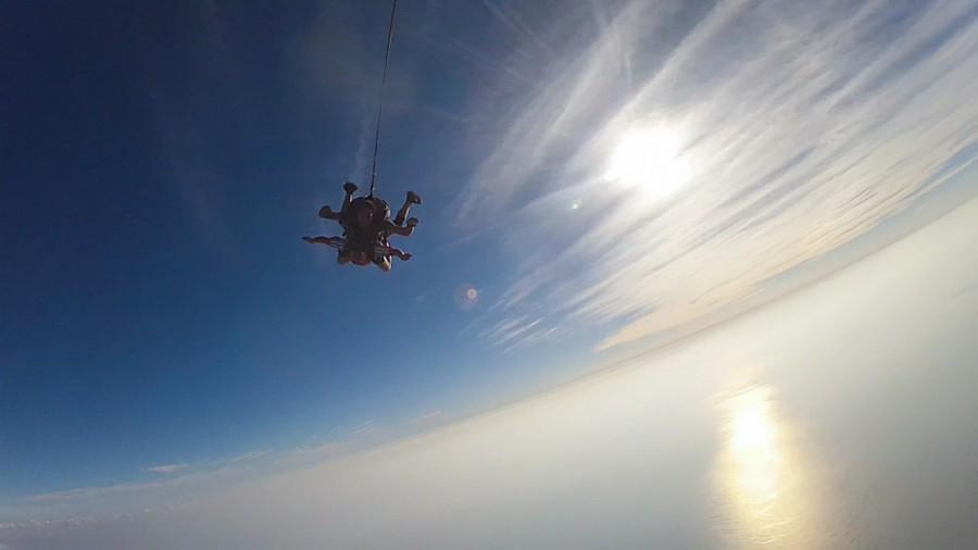 Salto en paracaídas en México, sólo para valientes