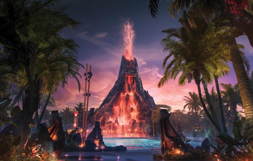 Volcano Bay™, el nuevo parque temático de Universal Orlando® Resort