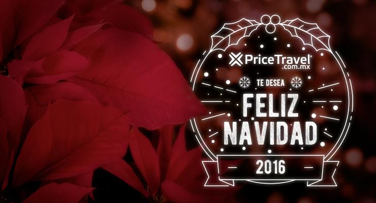 PriceTravel te desea una Feliz Navidad